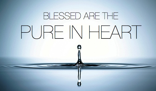 Image result for blessed are those who are pure in heart